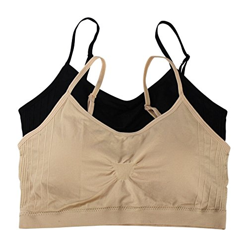Womens Seamless Essential Bralette Removable
