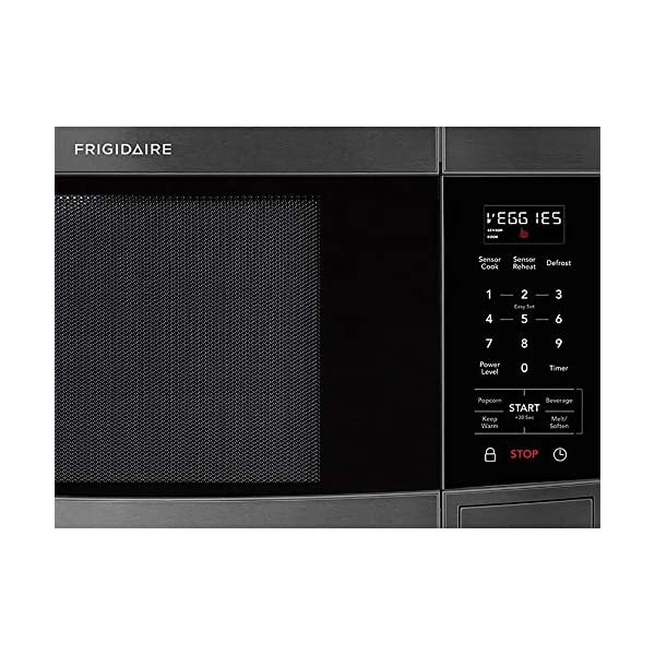 Frigidaire FFCE1638TD 1.6 Cu.Ft. Black Stainless Countertop Microwave 2