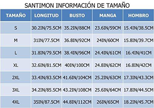Abajo Caqui Media Santimon Soporte Capa Ligero Chaqueta Calentar Mujeres Las Del De Collar Packable Longitud CCYqBTw
