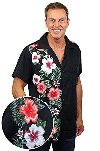 [해외]펑키 하와이 셔츠 남성 짧은 소매 프론트 포켓 웨딩 세련된 여러 색상/Funky Hawaiian Shirt Men Short-Sleeve Front-Pocket Wedding Chic Multiple Colors