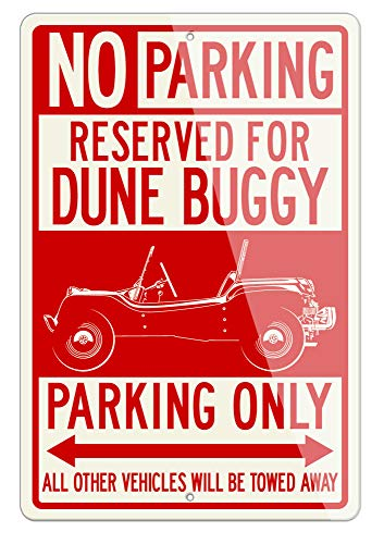 Legend Lines 1964 Meyer Manx Buggy Volkswagen Reserved Parking Only Aluminum Sign - 12 by 18 inches (1, Large) - Great American Classic Car Gift