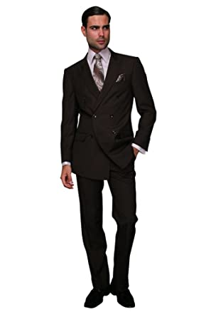cb68bce9 DOUBLE BREASTED SUIT at Amazon Men's Clothing store: