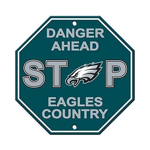 Fremont Die NFL Philadelphia Eagles Stop Sign