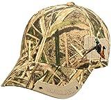 Mossy Oak Adjustable Closure Hunting Cap, Mossy Oak Shadow Grass Blades Camo