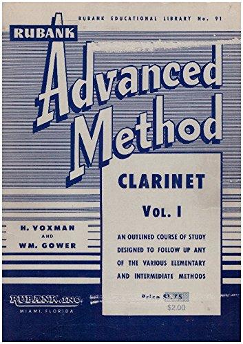 Rubank Advanced Method Clarinet Vol 1 Library # 91 (Rubank Educational Library #91, I)