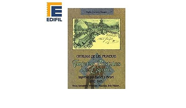 PRIMERAS Tarjetas Postales de ESPAÑA Impresas por Hauser y Menet ...