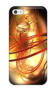 Premium Protective Hard Case For Iphone 5/5s- Nice Design - Fractal