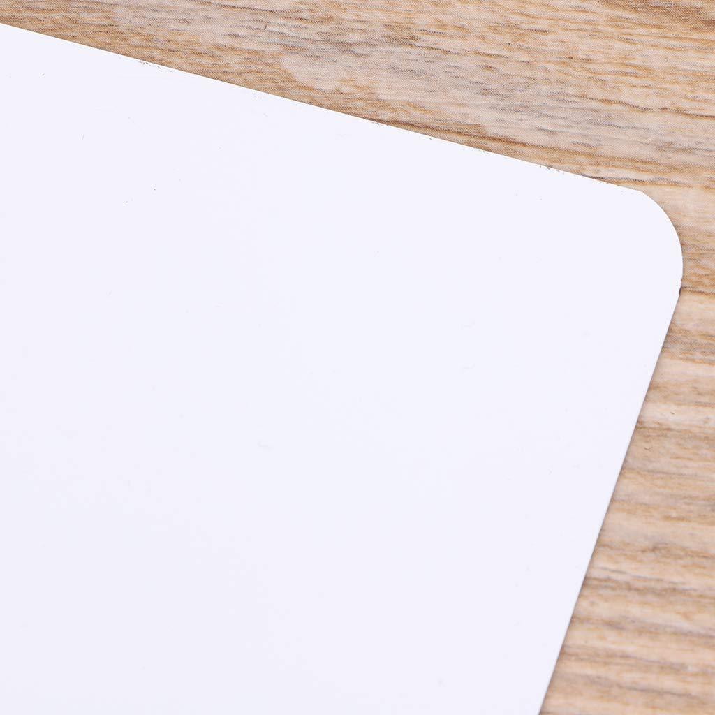 MB-LANHUA A5 Whiteboard Sticker Pizarra magn/ética Nevera Dibujo Grabaci/ón Tablero de Mensajes Refrigerador Bloc de Notas 210x150mm