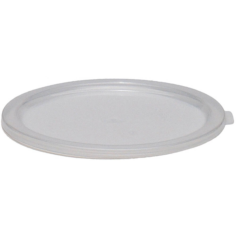 Cambro Translucent Lids for 6 and 8 qt. Round Containers, Pack of 12 RFSC6PP-190