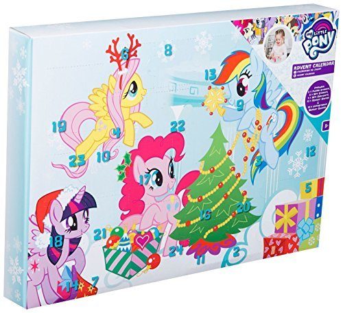 My Little Pony Girls Advent Calendar Puzzle Eraser Stickers Stamps Kids Christmas Sambro