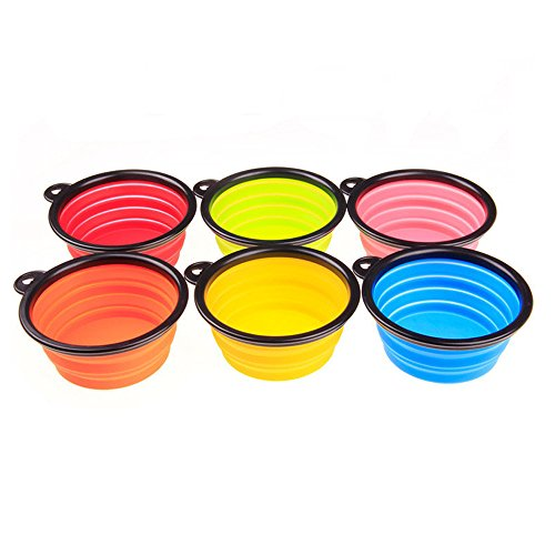 Collapsible-Pet-BowlSet-of-6-Travel-Dog-Bowls-BPA-Free-Food-Grade-SiliconeExpandable-Foldable-Bowl-for-Dog-Cat-Food-Water-FeedingPerfect-for-Journey-Hike