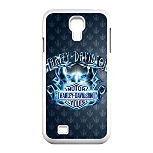 Harley Davidson Samsung Galaxy S4 9500 Cell Phone Case White E1320092
