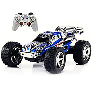 Babrit RC Car 2WD 1:32 Scale Remote Control Electric Racing Car High Speed Vehicle with Rechargeable Battery - 51LPjBLBawL - Babrit RC Car 2WD 1:32 Scale Remote Control Electric Racing Car High Speed Vehicle with Rechargeable Battery