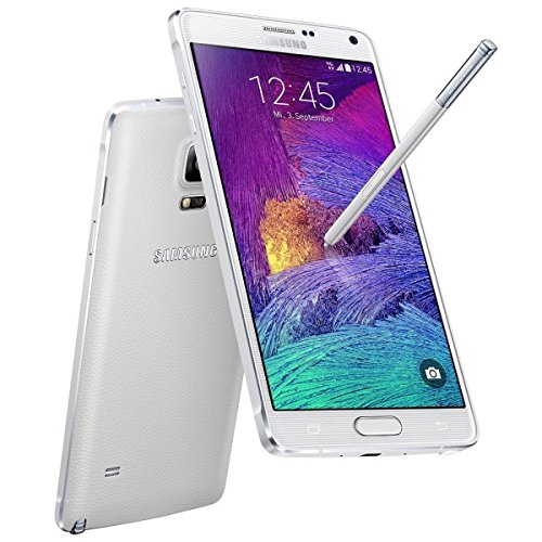 Samsung Galaxy Note 4 N910a 32GB GSM Unlocked Smartphone Frost White (Certified Refurbished)