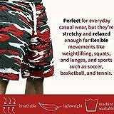 Flexz Fitness Comfortable Gym Shorts for Men - Mens