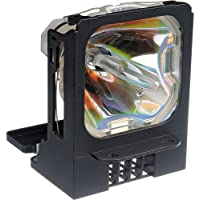 Electrified VLT-XL5950LP Replacement Lamp with Housing for Mitsubishi Projectors