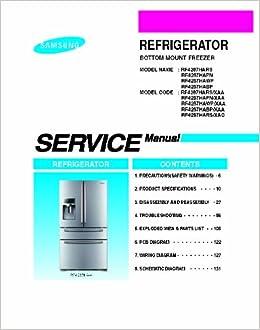 samsung manual rs265tdrs