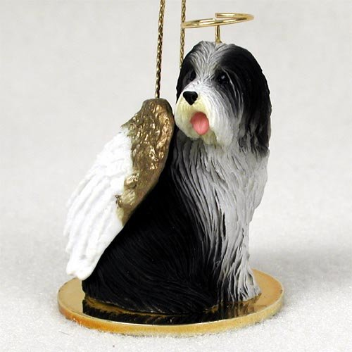Bearded Collie Angel Dog Ornament (Ornament Dog Angel Collie)