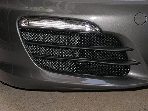 - Zunsport Compatible with Porsche Boxster 981 - Outer Grille Set (Without Parking Sensors) - Black Finish (2012-2016)