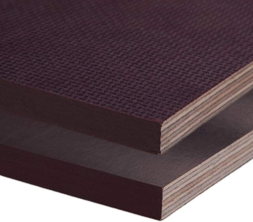 Siebdruckplatte 27mm Zuschnitt Multiplex Birke Holz Bodenplatte 50x150 cm