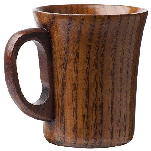 Natural Wood Wooden Mug