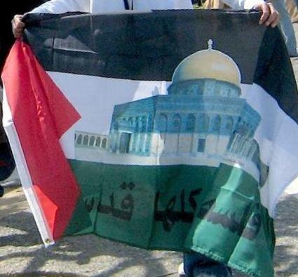 Amazon.com: Mezquita al-aqsa, bandera de Palestina, 3 x5 ...