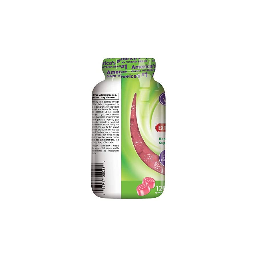 Vitafusion Extra Strength Vitamin D3 Gummy Vitamins, 120 ct (Packaging May Vary)