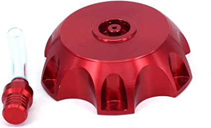 Fast Pro Tapa de dep/ósito de Combustible CNC de Aluminio sin Llave para Honda