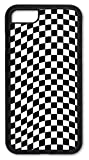iPhone 7 Case, iPhone 8 Case, Slim Fit Shell Hard Plastic Full Protective Cover Case for Apple iPhone 7 / iPhone 8 - Checkered Flag