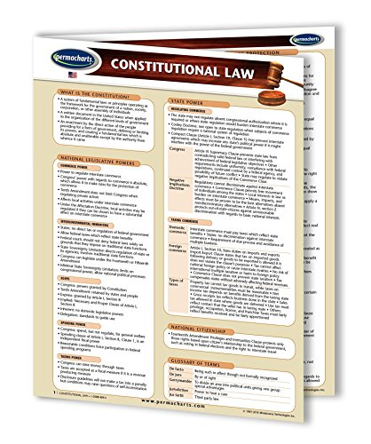 Constitutional Law Guide - USA - Legal Quick Reference Guide by ()
