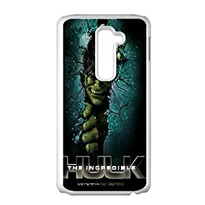 LG G2 Cell Phone Case White Hulk ljvl