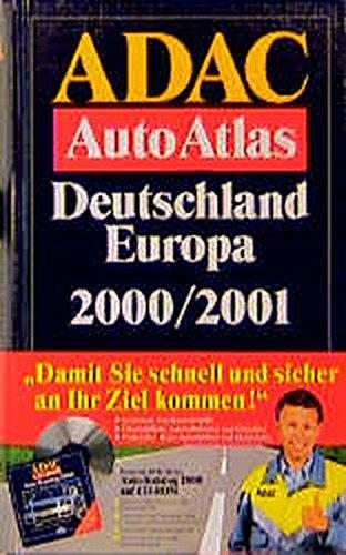 ADAC Autoatlas Deutschland /Europa 2000/2001