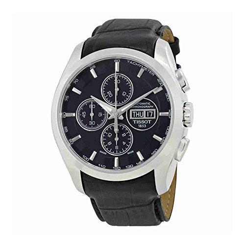 Chronograph Automatic Gents Watch - Tissot Couturier Chronograph Automatic Mens Watch T035.614.16.051.02