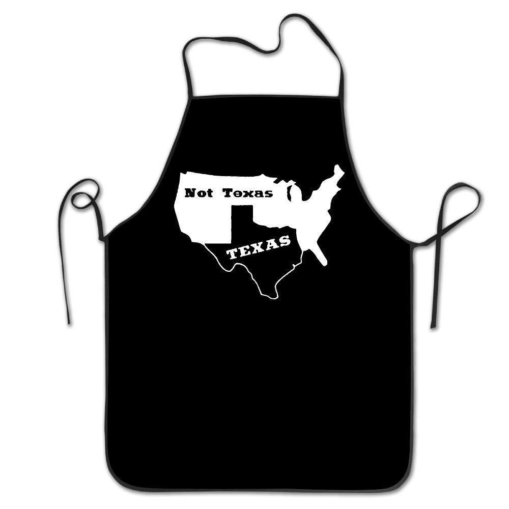 amiuhoun テキサス テキサス州 セシード オースティン ダラス オイル ロングホーン レディース メンズ キッチン ビブ エプロン フラワー ショップ シェフ 調節可能なネックシェフ エプロン   B07GKKJBP1