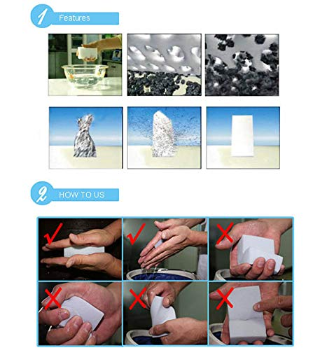 Xinnio 100pcs Magic Sponge Eraser Melamine Cleaner Gray Multi-Functional Cleaning Wholesale Retail