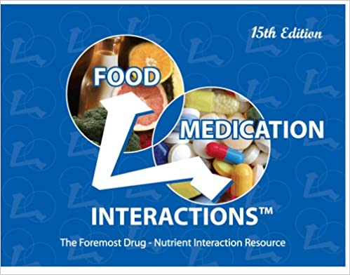 Food medication interactions 15th edition 9780971089631 food medication interactions 15th edition 15th edition fandeluxe Image collections
