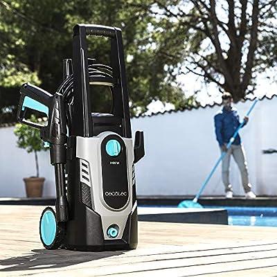 Cecotec hidrolimpiadora HidroBoost 1400 EasyMove. Compacta, potente y portátil. Ruedas y asa alta. Máx potencia 1400 W. Caudal máx 408 l/h. 105 bares ...
