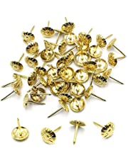 Robell Bekleding Tacks Nail Antieke Thumbtack Push Pin Meubels Decoratieve Pins Bloempatroon Hoofd Nail voor Vaste Tekening