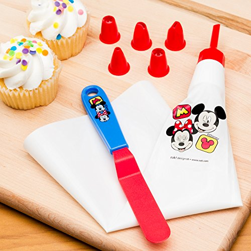 Zak Designs Mickey & Minnie Mouse Frosting Bag and 6 Tips for Cooking with Kids, Mickey & Minnie by Zak Designs (Image #3)