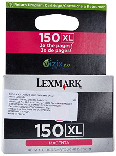 Lexmark High Yield 150XL Magenta
