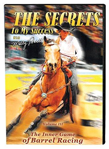 REINSMAN Molly Powell: Secret to My Success DVD Vol III -The Inner Game Barrel Racing