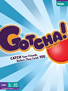 GOTCHA! BOARD GAME by Buffalo Games - Catch your friends before they catch you!