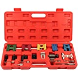 Supercrazy Engine Twin Cam Flywheel Locking Alignment Timing Tool Kit for Ford Mazda Vauxhall OPEL SF0037