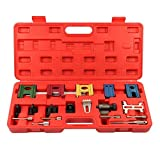Automotive : Supercrazy Engine Twin Cam Flywheel Locking Alignment Timing Tool Kit For FORD MAZDA VAUXHALL OPEL SF0037