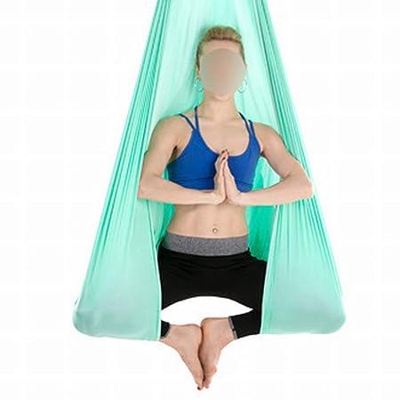 Fusanadarn Estudio de Yoga Aéreo Hamaca de Yoga Invertida ...