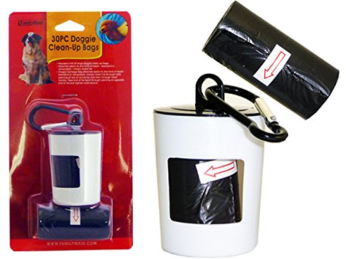 DOG POOP BAG 2PC+CANISTER W/ C , Case of 144 by DollarItemDirect