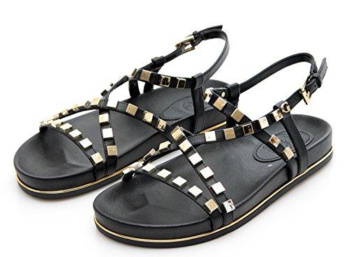 Sandalo Scarpe LEA03 Estate Clareta 2018 Primavera Black FLCL22 nero Donna Guess wB5Xg8nqdg