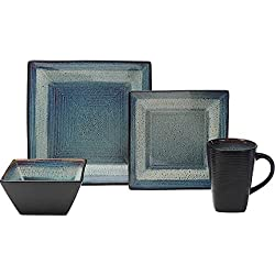 Oneida Adriatic Dinnerware Set (32 Piece, Blue)