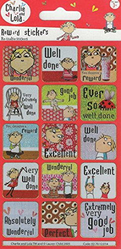 Paper Projects Charlie and Lola Foiled Reward Stickers by Paper Projects