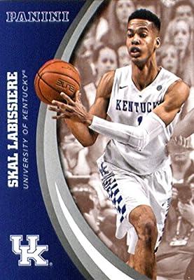2016 Panini Collegiate Team Set Card #48 Skal Labissiere University of Kentucky